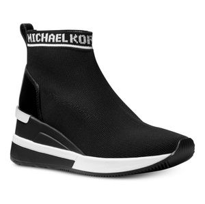 Michael kors skyler boots black size 8 and size 7
